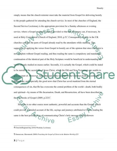 Liturgy Religion Essay Essay example