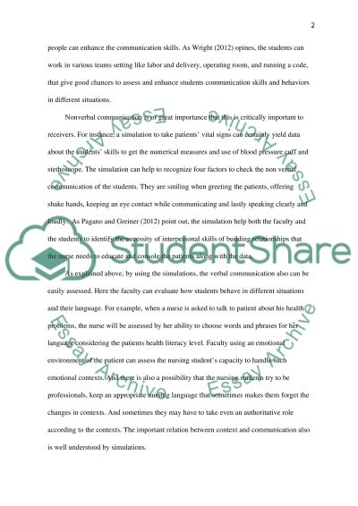Assessment Tool essay example