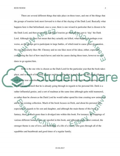 Book Report Essay Essay example