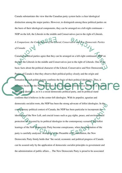 Political Science Master Essay
