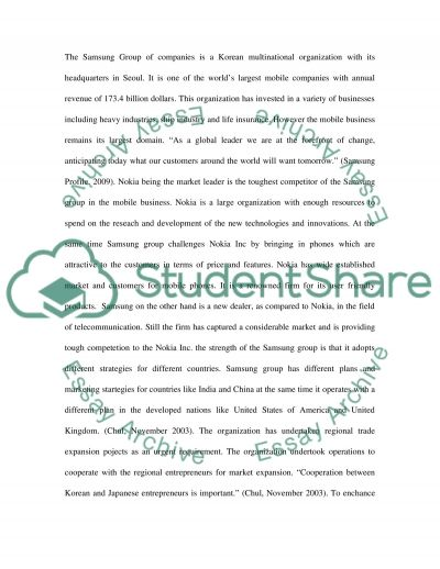 BUSINESS STRATEGY essay example