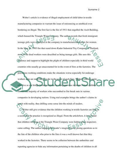 Modify the essay