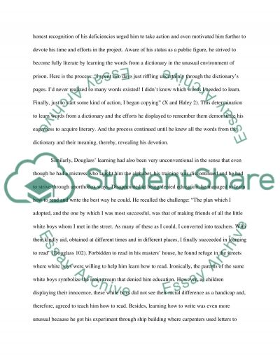 Well Written Essay Learning To Read And Write By Frederick Douglass And Learning To Read By  Malcolm X The History Of Computers Essay also Lincoln Essay Learning To Read And Write By Frederick Douglass And Learning To  Human Development Theories Essay