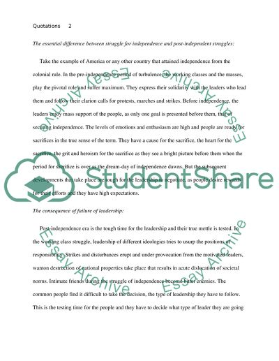 Quotations Essay Example Topics And Well Written Essays 750 Words