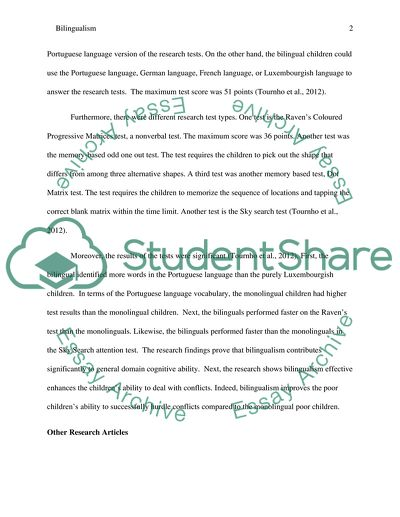 Article Research Paper