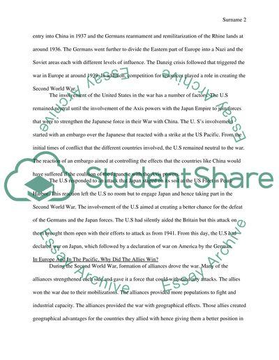 Notes essay