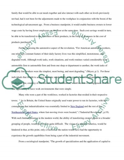 New American Vision essay example