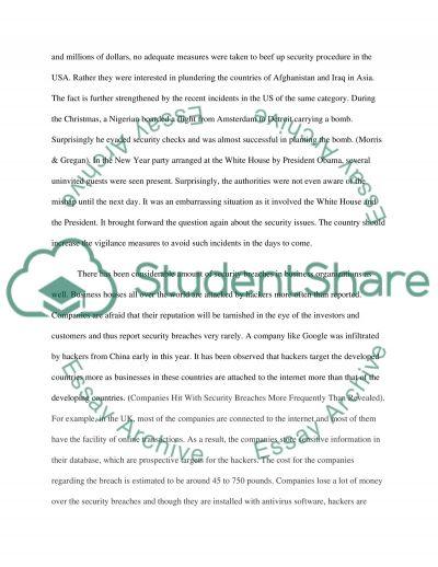 WA3 essay example