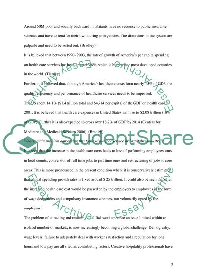 importance of good health care essay