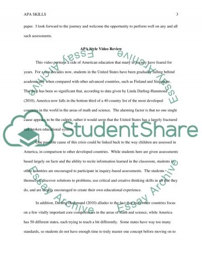 Introduction/Journal essay example