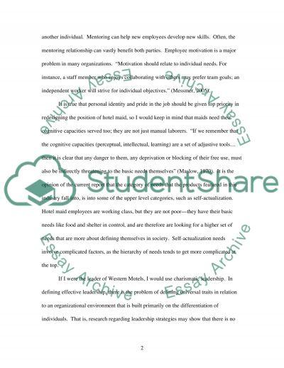 Read the case study below essay example