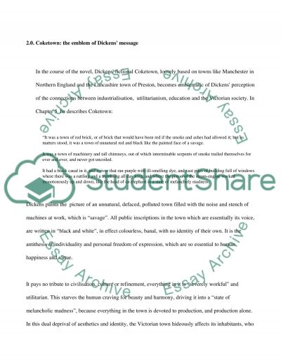 Dickenss Treatment of Education and Social Mobility in Hard Times essay example