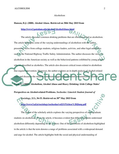 Two sources from definition essay