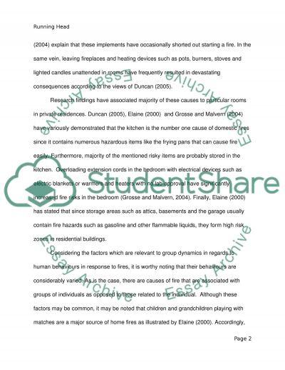 Human behavior essay example