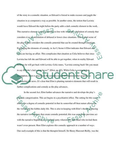 ts eliot essays