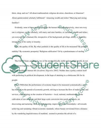 Sanctity essay example