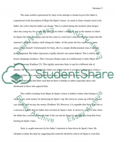 Science Fiction Essay Topics Barn Burning Literary Analysis Essay College Vs High School Essay Compare And Contrast also High School Essay Help Barn Burning Literary Analysis Essay Term Paper Example   Words  Compare And Contrast High School And College Essay