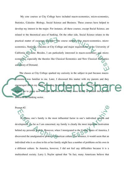 curiosity essay example
