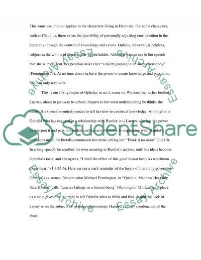 English paper on Hamlet essay example