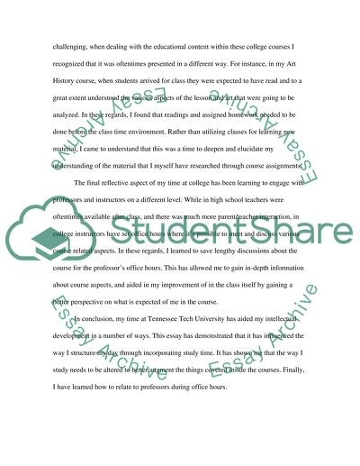 University life essay