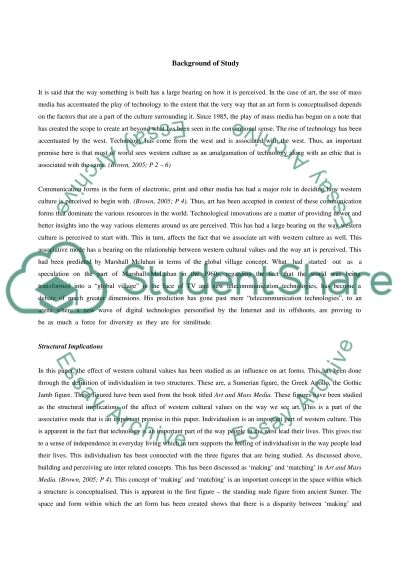 The perception as a heart of art essay example