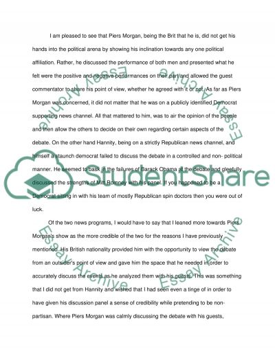 Critical Thinking /News story essay example