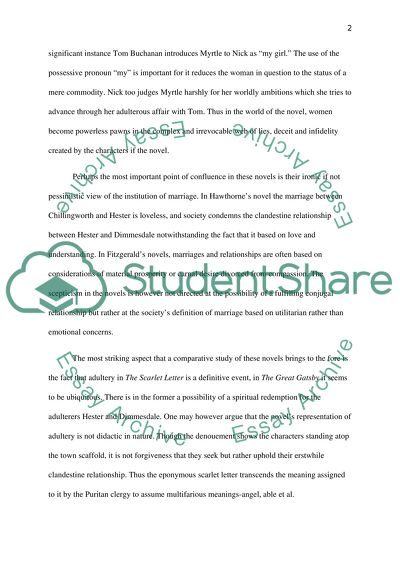 Research Essay Topics For High School Students Adultary In The Novels The Great Gatsby And The Scarlet Letter Science Essay Topics also Essay On Health Care Adultary In The Novels The Great Gatsby And The Scarlet Letter Essay Business Argumentative Essay Topics