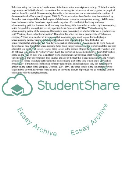 Essay about causes and effects of telecommuting how to write html table in asp net