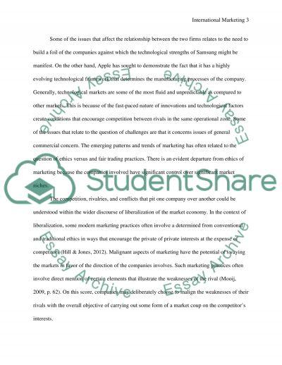 International marketing( optional) essay example