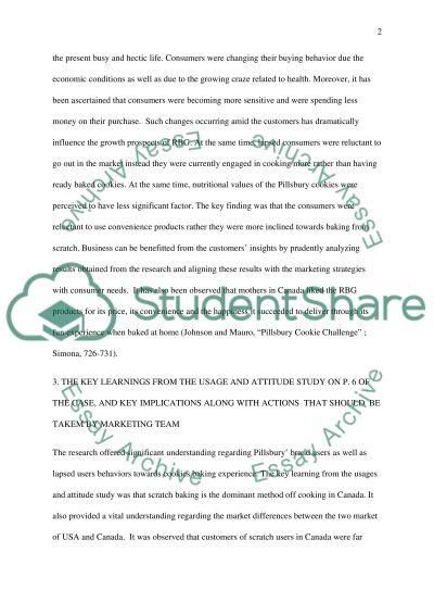 Pillsbury Cookie Challenge essay example