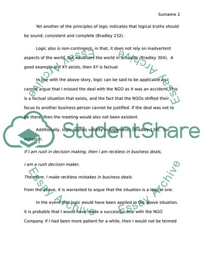 Student Life Essay In English The Principles Of Logic Essays For High School Students also Science And Society Essay The Principles Of Logic Essay Example  Topics And Well Written  Computer Science Essay Topics