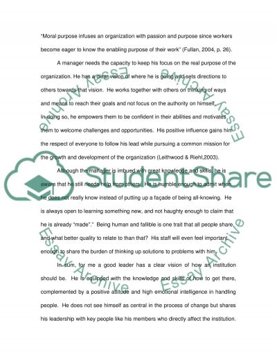 Reflective Paper essay example