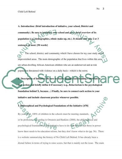 Evaluation of a New Curriculum Initiative essay example