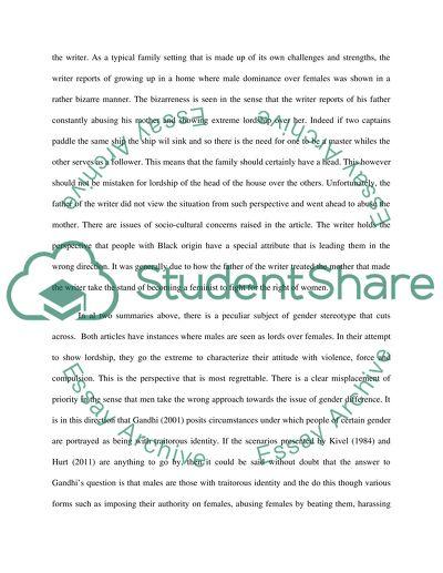 Elements that make a good academic essay