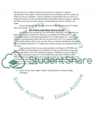Case Study analysis (Operations Management) essay example