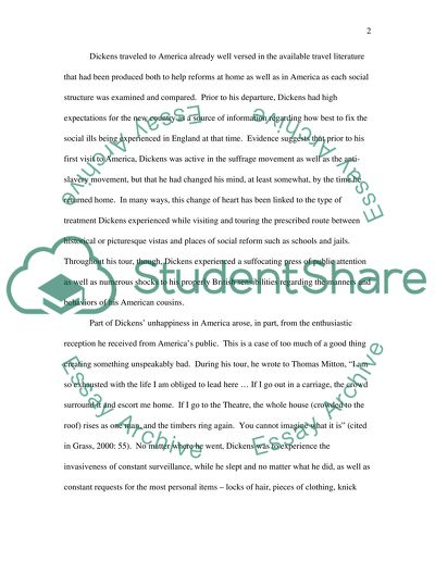 Charles dickens research paper