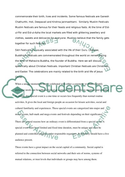 Essay On Management Event Management College Essay Example Topics