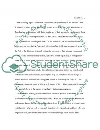 Religion College Essay