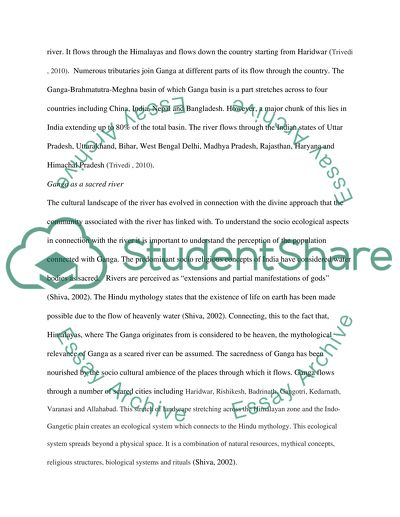 Ganga River Essay Example  Topics And Well Written Essays   Words Ganga River Business Plan Writer Raleigh Nc also Best English Essay Topics  Book Review Service