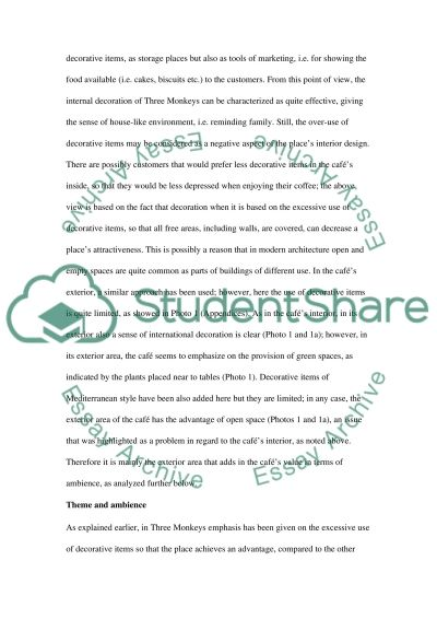 Three Monkeys Tea and Cofee House - Strengths and Weaknesses essay example