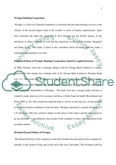 Corporate Finance II   Essay Essay example