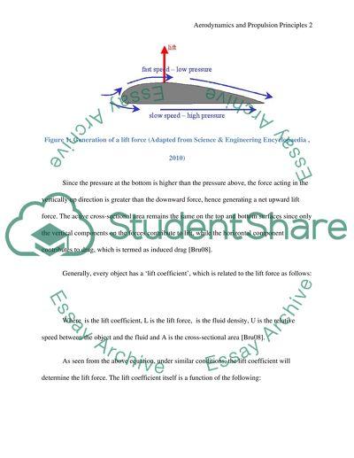 Aerodynamics and Propulsion Principles