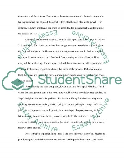 Management ( Final ) essay example