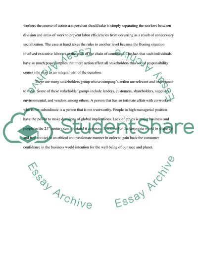 Strategic Management- Case study