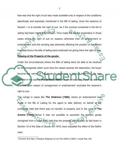 Modern Shipping Industry essay example