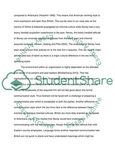 (Storey & Co) case study analysis