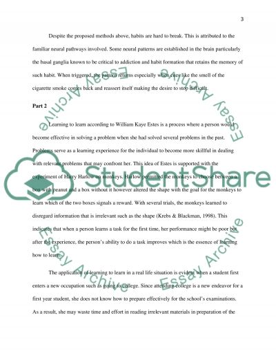 Behaviorists essay example