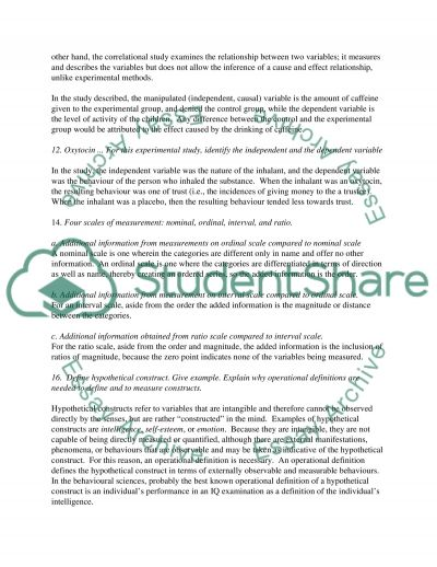 Problem Solving-Research Paper essay example