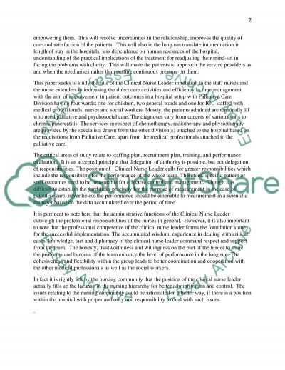 palliative care essay example Palliative care interview author's name institution introduction the nurse chosen for this interview is edmond edmond is a registered nurse who has worked.