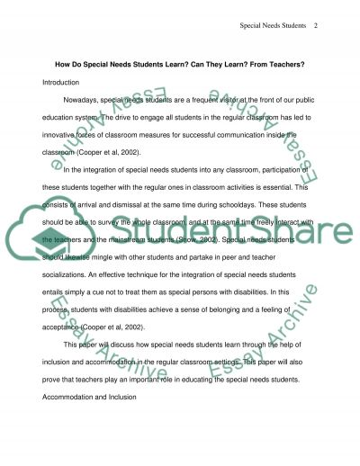 Thesis Final Paper essay example